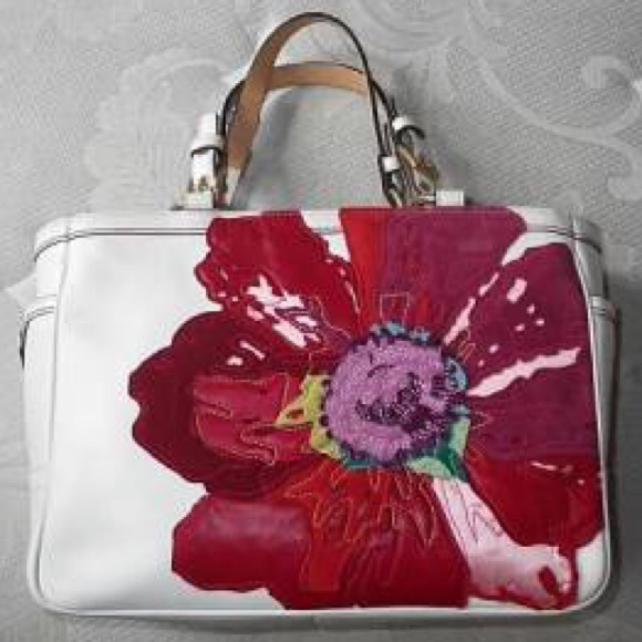 Coach Handbags - Limited Edition Coach Poppy Tote Bag 0c22b9eee3a13
